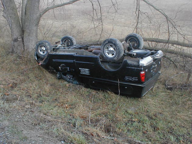 truck in ditch web picture